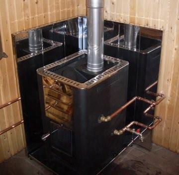 Теплообменник для банной печи как подключить баня теплообменник теплый пол
