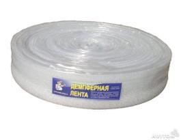 Демпферная (кромочная) лента для стяжки пола