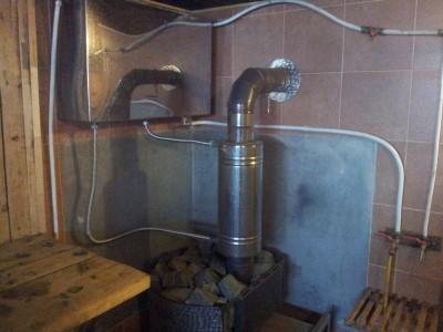Закипает вода в теплообменнике