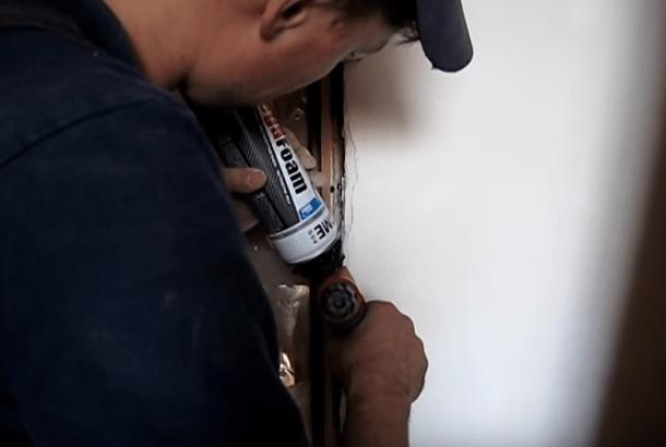 Установка добора на дверь