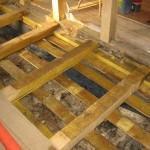 Изношенность и усыхание деревянных элементов пола