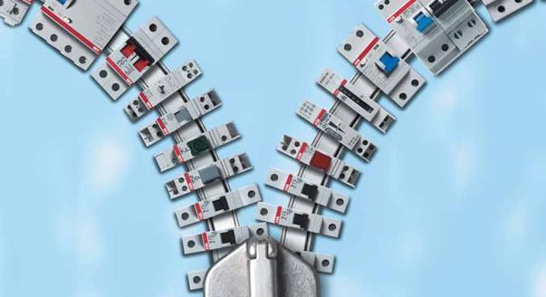 На фото выключатели от фабрики ABB