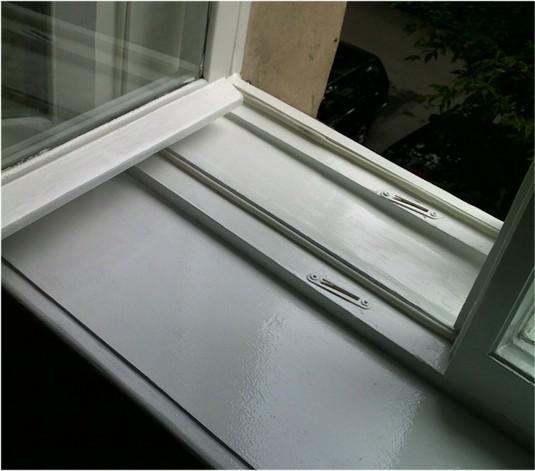 Отреставрированное окно