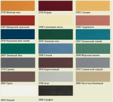 Палитра классических красок для деревянных дверей