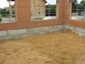 Песчаная подушка - фото