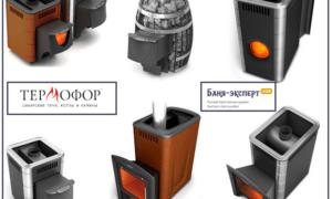 Печи для бани Термофор — обзор