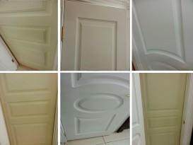 Пример качественно окрашенной двери