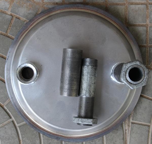 Теплообменник из нержавеющий стали