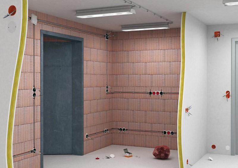 Электропроводка, местоположение выключателей, розеток, распределительных коробок