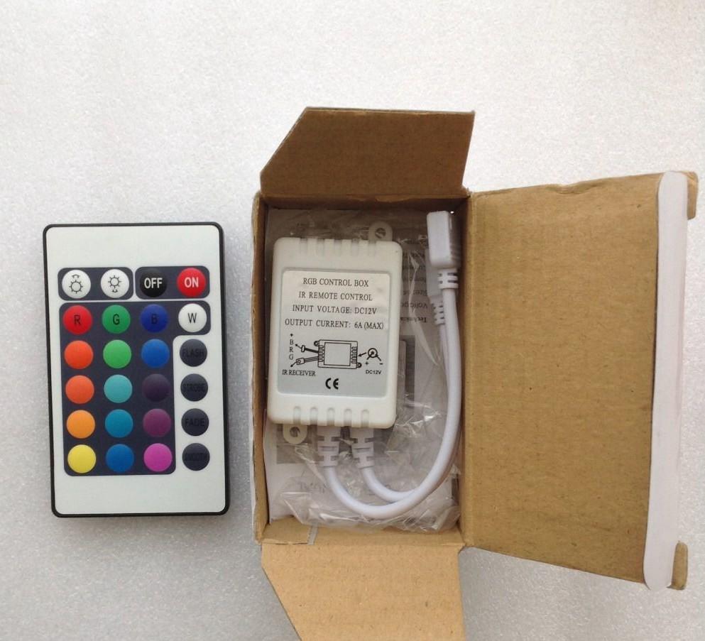 Контроллер для светодиодной ленты RGB c пультом
