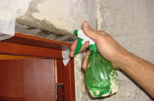 Смачивание и очистка поверхности