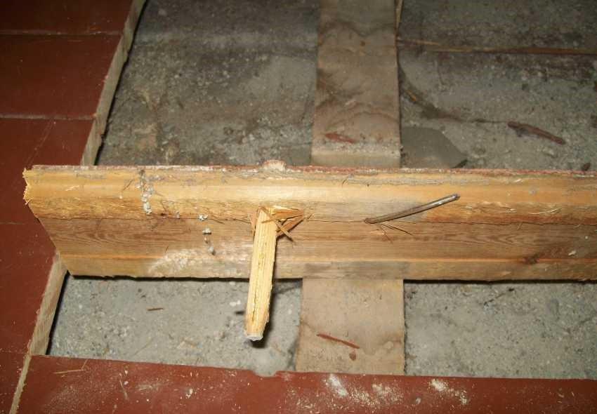 Бетонная стяжка на деревянный пол