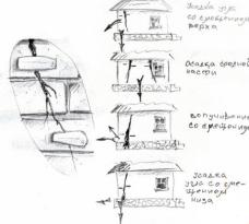 Отметка трещин дома и возможные причины их появления