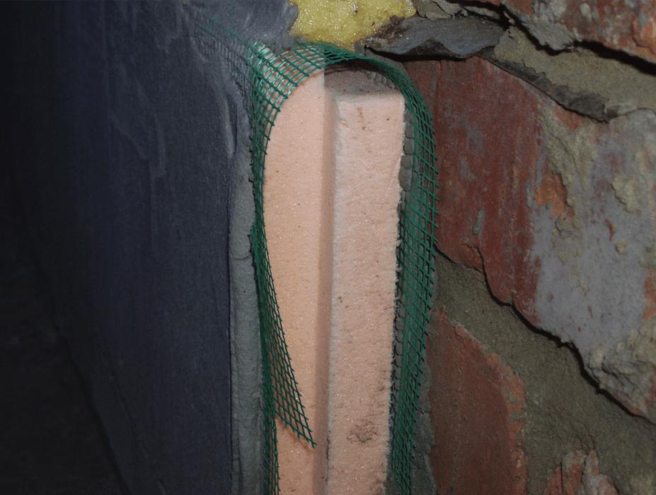 Готовый теплоизоляционный пирог с использованием экструдированного пенополистирола