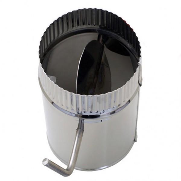 Круглая заслонка для дымохода как прочистить дымоход в печи своими руками