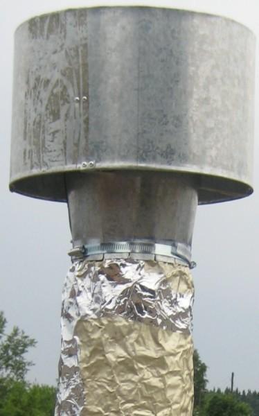 Закрепеленный дефлектор - фото
