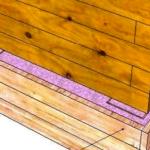 Продолжение установки опалубки и заливка бетона
