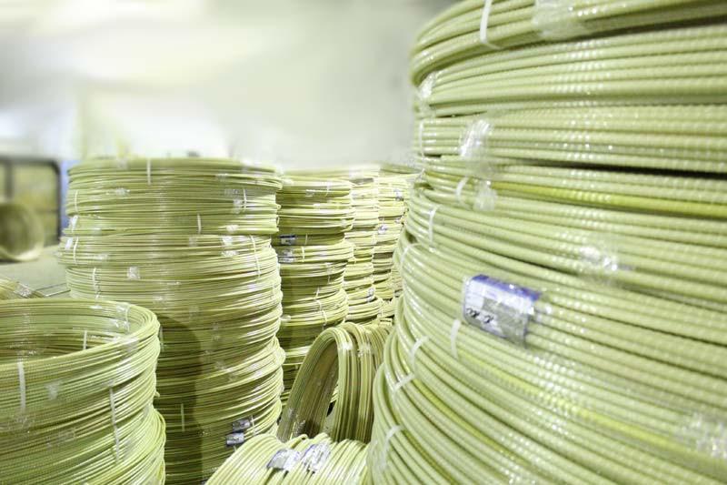 Мотки арматуры из стеклопластика