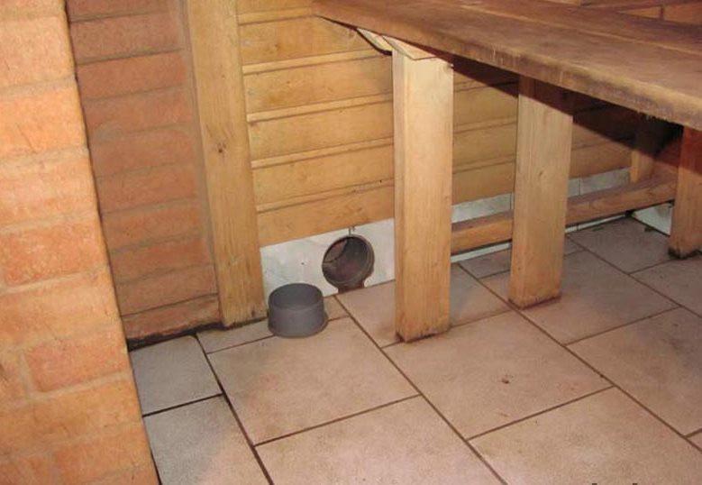 Как сделать вентиляционное отверстие в стене 69