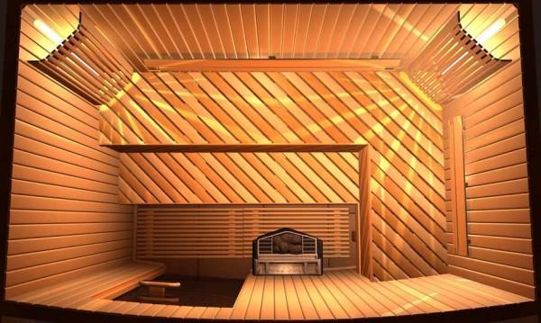 Входное и выходное отверстие вентиляции располагайте по диагонали
