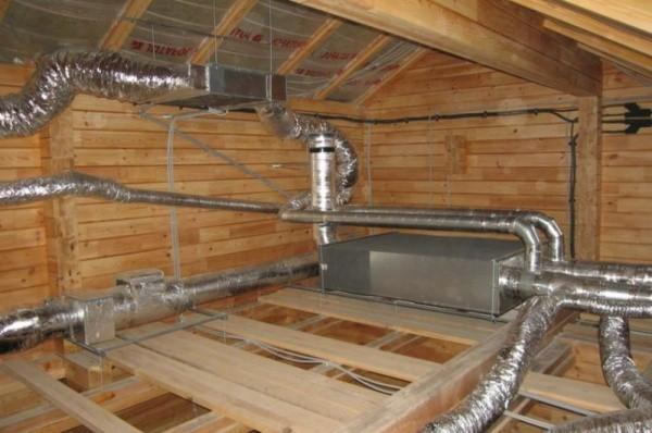 Как обустроить вентиляцию в бане в соответствии со СНиП
