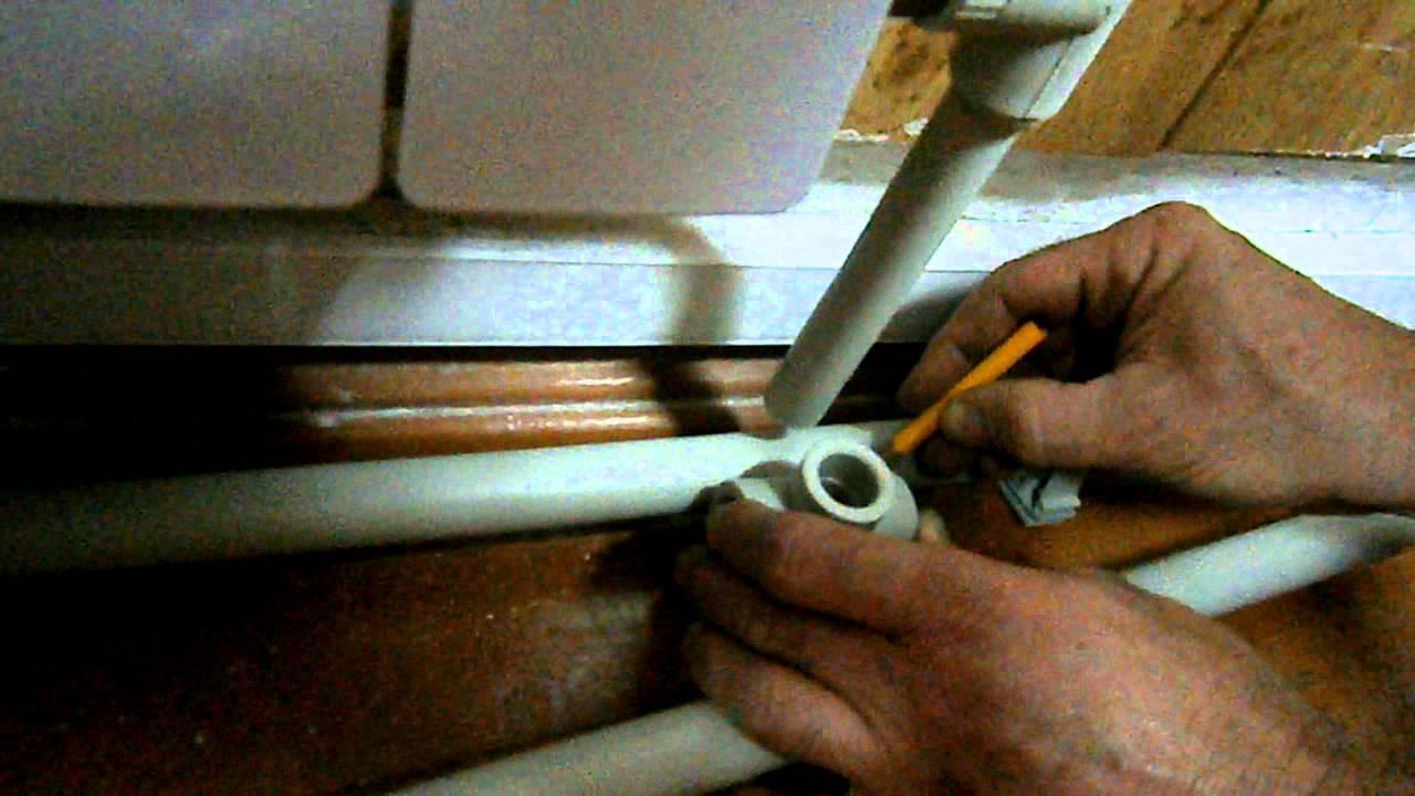 Как правильно размечать и паять трубы своими руками