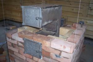 Как сделать печь со встроенным котлом