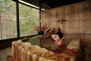 Общественная японская баня Сэнто