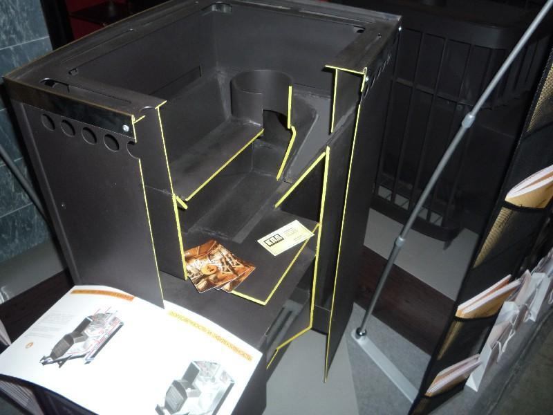 Печь Варвара в разрезе