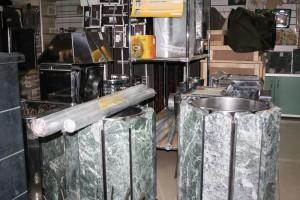 Печь электрическая ЭНУПремьера-15кВт облицовка (змеевик)