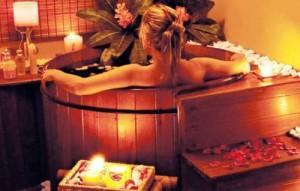 Процедуры в японской бане носят оздоравливающий характер