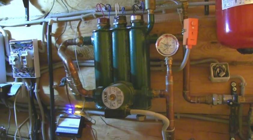 Регулируемый электрический котел