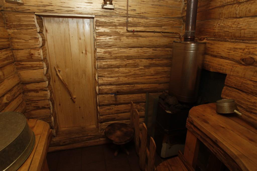 Русская баня и полоки в ней
