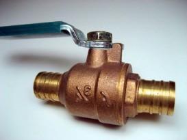 Стандартный запорный вентиль для водопроводной системы