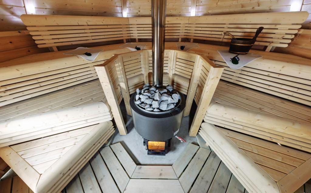 Финская дровяная печь для бани
