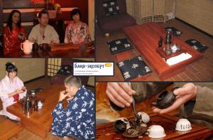 Чайная церемония - неотъемлемое завершение банных процедур