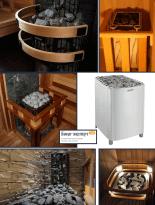 Электрические каменки Harvia для коммерческих саун 9-66 м3