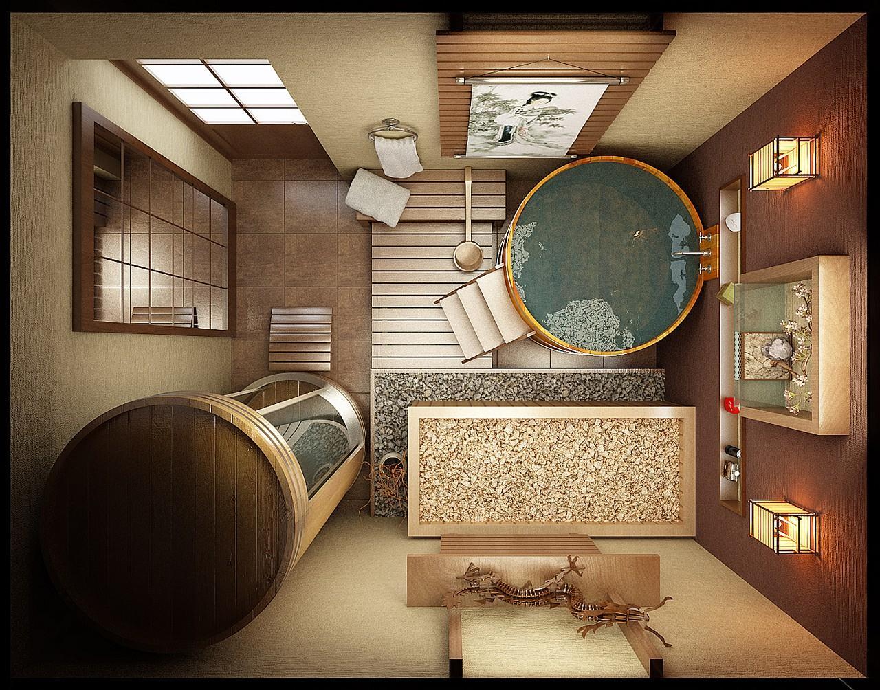 Японская бочка-баня офуро своими руками (видео)
