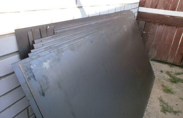 Металлические листы 2мм