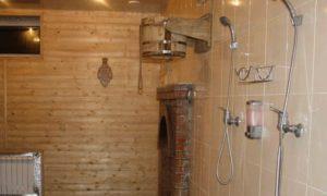 Как сделать душ в помывочной комнате