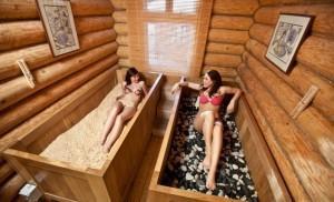 Традиционная японская баня