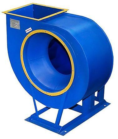 Центробежный вентилятор имеет три основные составляющие: корпус, оснащенный лопатками, привод и рабочее колесо. Лопатки рабочего колеса могут быть выгнутыми вперед или назад (в сторону, противоположную вращению)