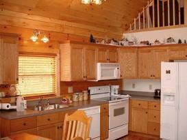 Пример оформления кухонной зоны в бане