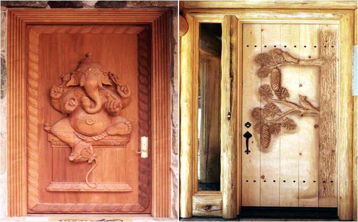Рекомендуется установка небольших дверей с высоким порогом