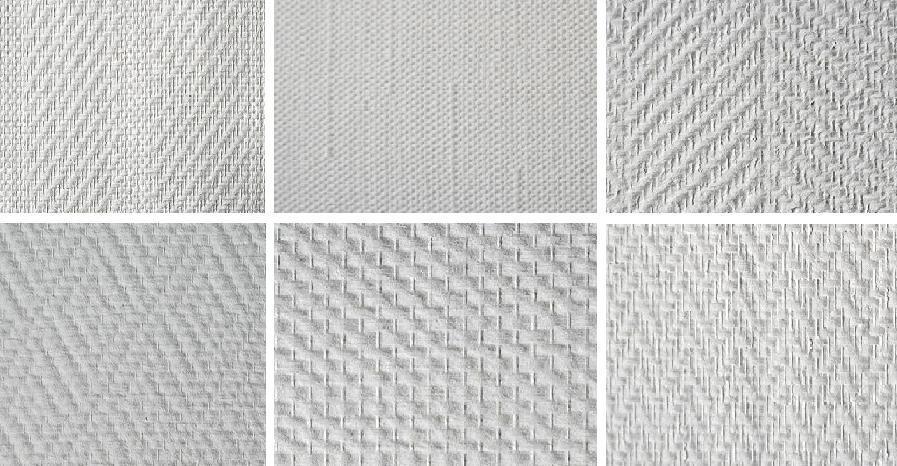 Стеклообои - текстуры