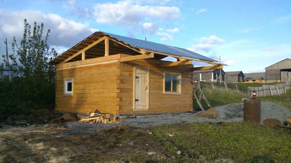 Почти готовая крыша
