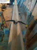 Вручную убираем лишнюю древесину