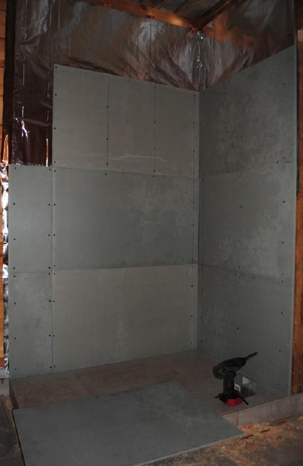 Крепление минерита на стену
