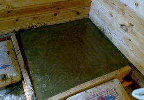 Плитное основание под банную печку