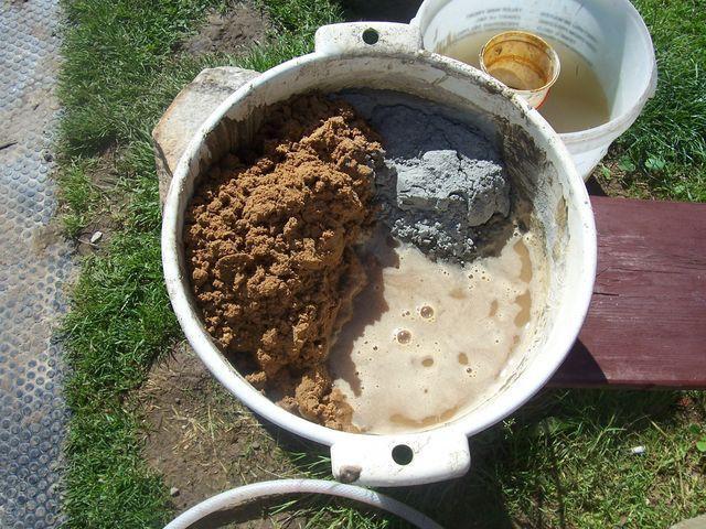 Рекомендованные пропорции цемента и песка для фундамента